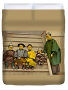 Chinatown Family Duvet Cover
