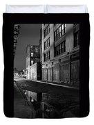 Chinatown New York City - Forsythe Street Duvet Cover