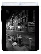 Chinatown New York City - Joe's Ginger On Pell Street Duvet Cover