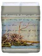 Chincoteague Driftoods Duvet Cover