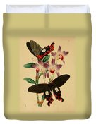Chinese Butterflies Duvet Cover by Philip Ralley