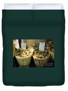 Chinese Crabs For Sale Duvet Cover
