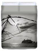 Chinese Fishing Net Duvet Cover