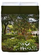 Chinese Garden View Duvet Cover