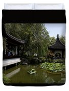 Chinese Gardens The Huntington Library Duvet Cover