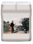 Chinese Gentleman, From A Picturesque Duvet Cover
