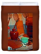 Chinese Kitchen Cookware Duvet Cover