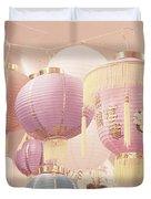 Chinese Lanterns Duvet Cover