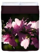 Chinese Mallow Duvet Cover