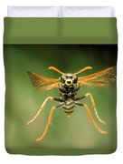 Chinese Paper Wasp Duvet Cover