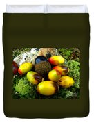 Chinquapin Harvest Duvet Cover