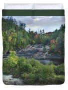 Chippewa River Ontario Canada Duvet Cover
