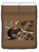 Chippy Perched Duvet Cover