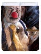 Chippy The Clown Duvet Cover