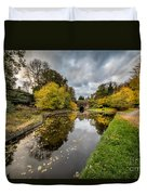 Chirk Canal Duvet Cover