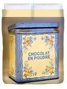 Chocolat En Poudre Duvet Cover