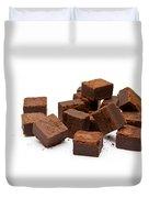 Chocolate Brownies Duvet Cover
