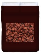 Chocolate Cereals Duvet Cover