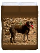 Chocolate Lab Duvet Cover