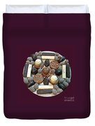 Chocolate Mandala Duvet Cover