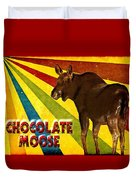 Chocolate Moose Duvet Cover