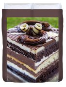 Chocolate Temptation Duvet Cover