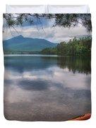 Chocorua Lake Duvet Cover