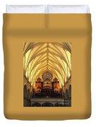 Choir Loft At Saint Josephs Cathedral Buffalo New York Duvet Cover