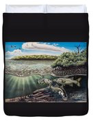 Chokoloskee Snook Duvet Cover