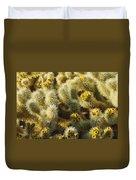 Cholla Cactus Garden Mirage Duvet Cover