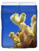 Cholla Cactus I By Diana Sainz Duvet Cover