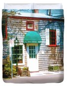Chowder House Rockport Ma Duvet Cover