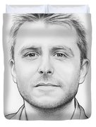 Chris Hardwick Duvet Cover