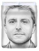 Chris Hardwick Duvet Cover