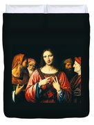 Christ Among The Doctors Duvet Cover
