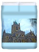 Christ Church Cathedral In Dublin Duvet Cover