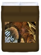 Christ Church Cathedral Roof Detail Duvet Cover