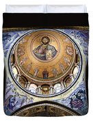 Christ Pantocrator -- No.5 Duvet Cover