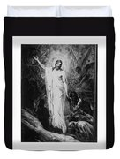 Christ Preaching To The Spirits In Prison C. 1910 Duvet Cover