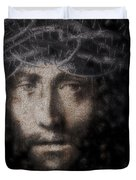 Christ Suffering Duvet Cover