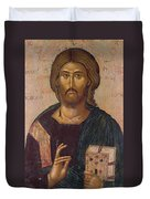 Christ The Redeemer Duvet Cover