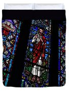 Christ Window Duvet Cover