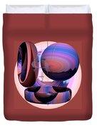 Christalline Energies Duvet Cover