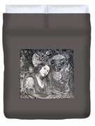 Christan Portrait Duvet Cover