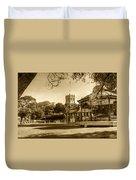 Christchurch Village Green Duvet Cover