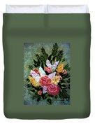 Christina's Bouquet Duvet Cover