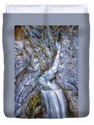 Christine Falls In Mount Rainier National Park Duvet Cover