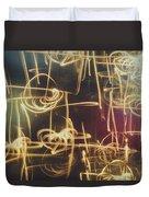 Christmas Abstract V Duvet Cover