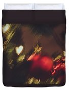 Christmas Abstract Vii Duvet Cover