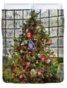 Christmas - An American Christmas Duvet Cover